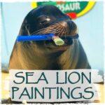 Sea Lion Paintings